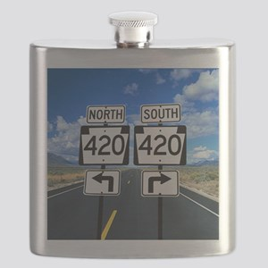 420 Roadsigns Flask